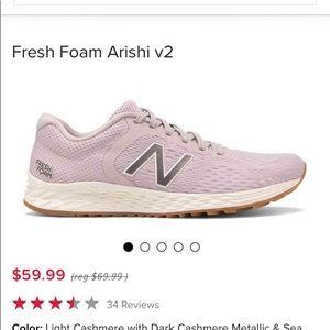 New Balance fresh foam Arishi size 9.5